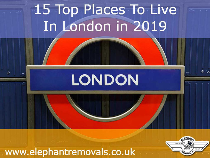 15 Top Places To Live In London in 2019