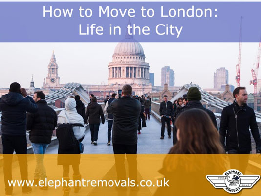 How to move to London
