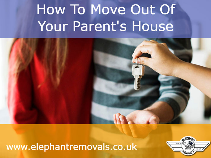 How To Move Out Of Your Parent's House