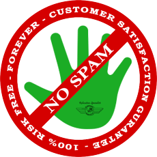 Risk Free No Spam Guarantee