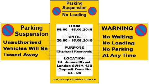 Moving Parking Permit