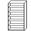 Bookcase - Tall