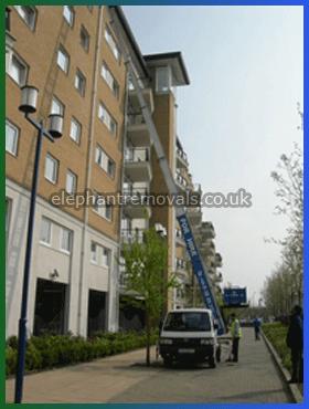 Crane Hoist - Specialists Furniture Removals Company